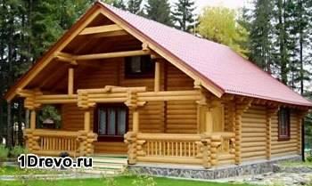 Дом из круглого сруба
