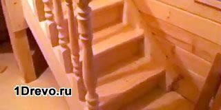 Как изготовить деревянную лестницу
