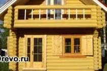 Дачные дома из сруба - удобство и экологичность