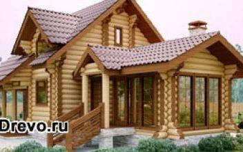 Выбор дизайна дома из сруба перед началом строительства