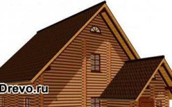 Устройство конструкции двухскатной крыши срубового дома