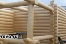 Наиболее распространённые размеры изготовления сруба из бревна