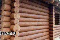 Обработка сруба дома и бани снаружи после строительства