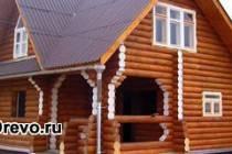 Чем покрасить деревянный сруб снаружи - старый и новый