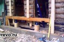 Капитальный ремонт деревянного сруба своими руками