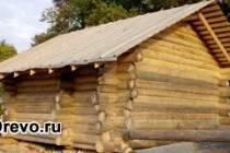 Изготовление сруба бани из осины - плюсы и минусы