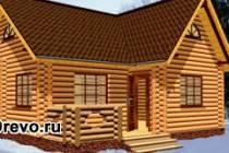 Преимущества строительства дома из сруба перед другими материалами