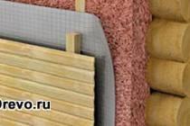 Этапы утепления срубового дома от пола до потолка