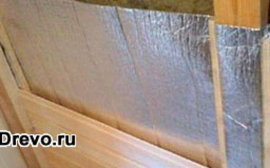 Утепление стен сруба бани - какой материал выбрать