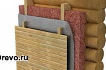Утеплитель для деревянного дома - межвенцовый и для наружных стен