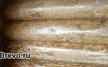 Внутреннее покрытие для сруба - отделка и защита
