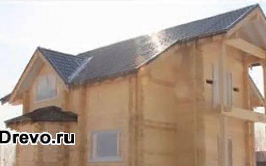 Удобные деревянные дома из профилированного бруса под ключ