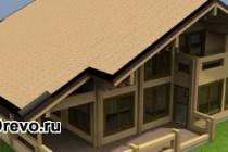 Строительство деревянного дома из клеёного бруса