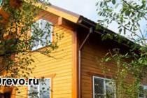 Дом из сухого профилированного бруса камерной сушки