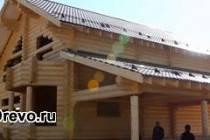 Строительство дома по финской технологии из оцилиндрованного бревна