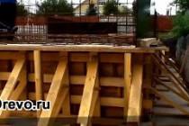 Этапы строительства цокольного этажа под деревянным домом