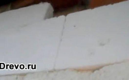 Материал для наружного утепления деревянного дома