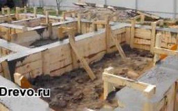 Надёжность свайного фундамента для брусового дома