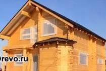 Какой размер дома из профилированного бруса самый оптимальный