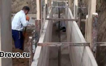 Расчёт и особенности устройства столбчатого фундамента под дом из бруса