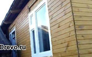 Варианты и особенности остекления деревянного дома