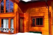 Сборка дома из клеёного бруса своими руками