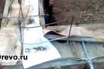 Как сделать столбчатый фундамент под брусовой дом своими руками