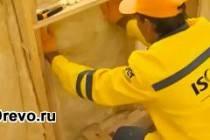 Какой материал подойдёт для утепления стен из бруса?