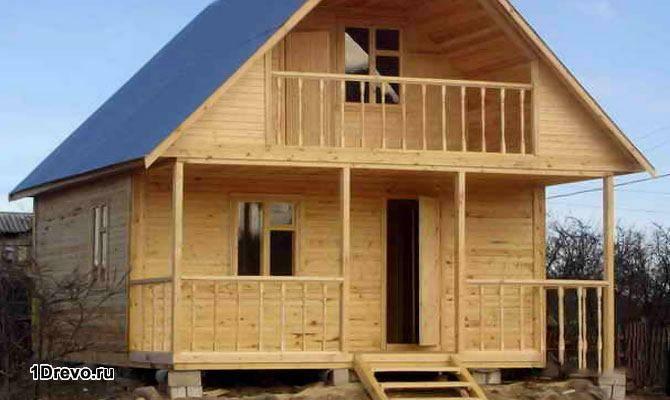 Сборный дачный дом