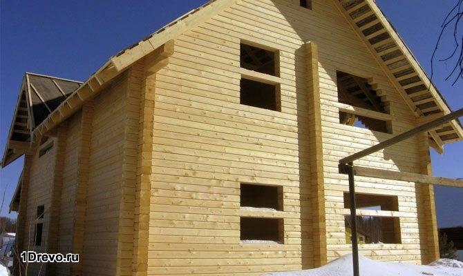 Дом из кедрового бруса