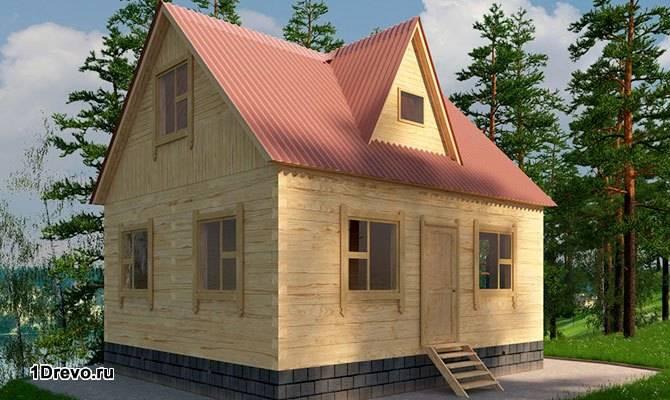 Модульный дом из бруса