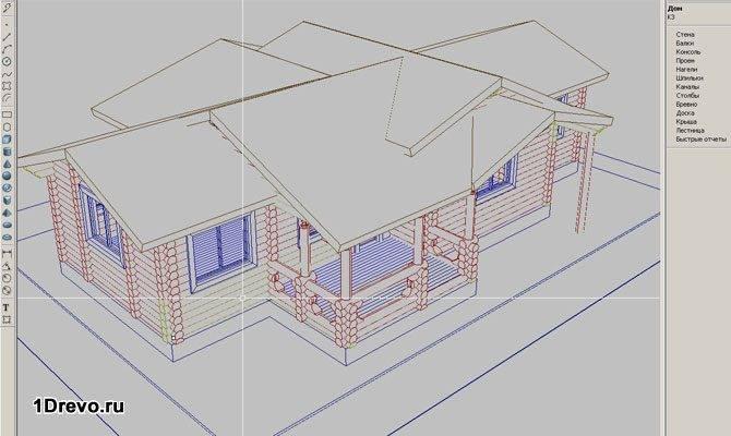 Проект дома с расчетами