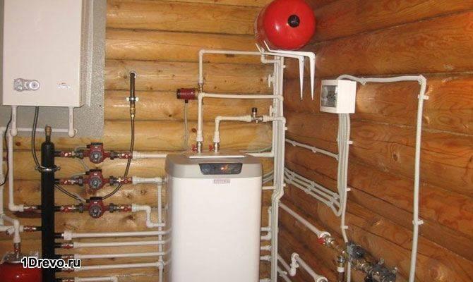 Водяное отопление на газу