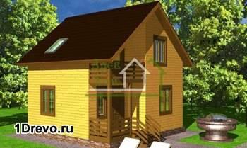 Проект дома 7 на 7