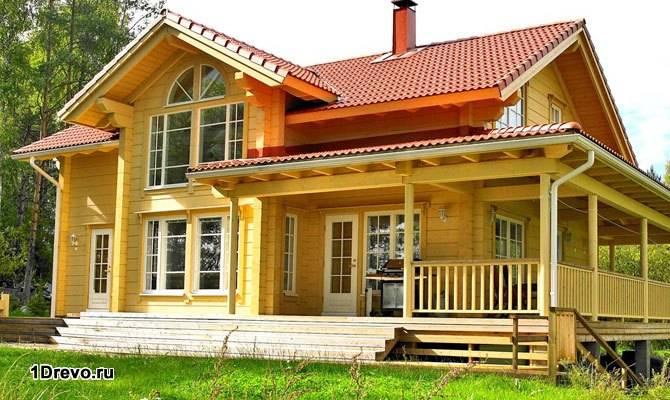Дом из клееного