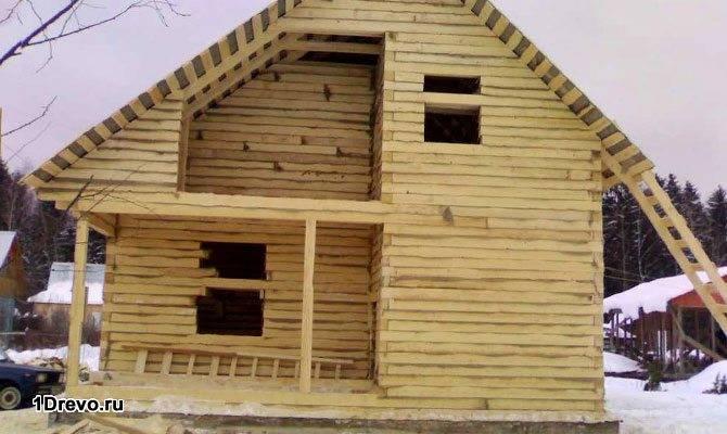 Усадка дома