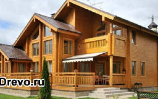 Деревянный дом из бруса: достоинства и недостатки