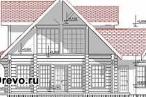 Использование схемы сруба дома при изготовлении и сборке