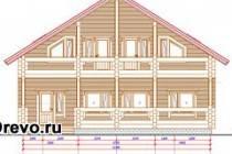 Особенности и отличия чертежей домов из бруса