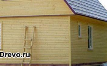 Преимущества строительства дачных домов из клеёного бруса