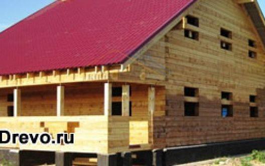 Одно- или двухэтажный дом из бруса 10х10 метров