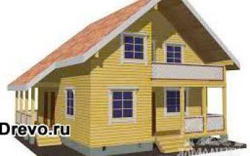 Чем привлекает строительство домов из бруса 8х9