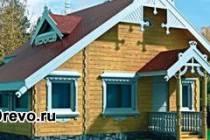 Характерные черты русского стиля дома из бруса