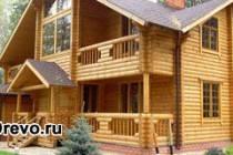 Строительство домов из круглого или оцилиндрованного бруса