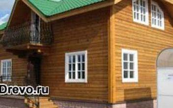 Удобство строительства домов из профильного бруса