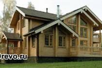 Строительство домов из бруса от производителя