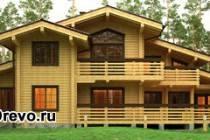 Основные отличия элитных домов из клеёного бруса