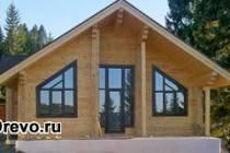 Варианты постройки гостевого дома и бани из бруса