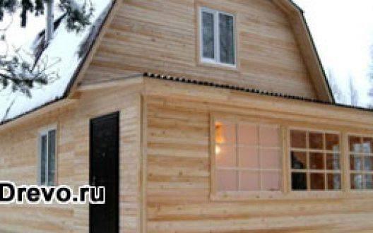 Как обшивают брусовые дома вагонкой снаружи и внутри