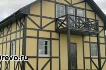 Каркасная технология строительства дома из досок и брусков